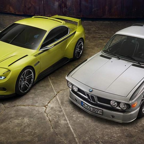"BMW 3.0 CSL Hommage un tributo al legendario CSL ""Batmóvil"""