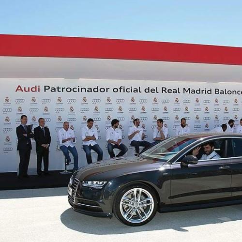 Real Madrid de baloncesto y Audi