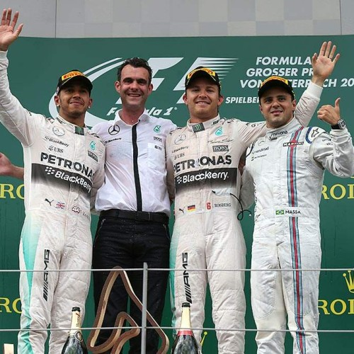 GP de Austria 2015: Rosberg se impone a Hamilton