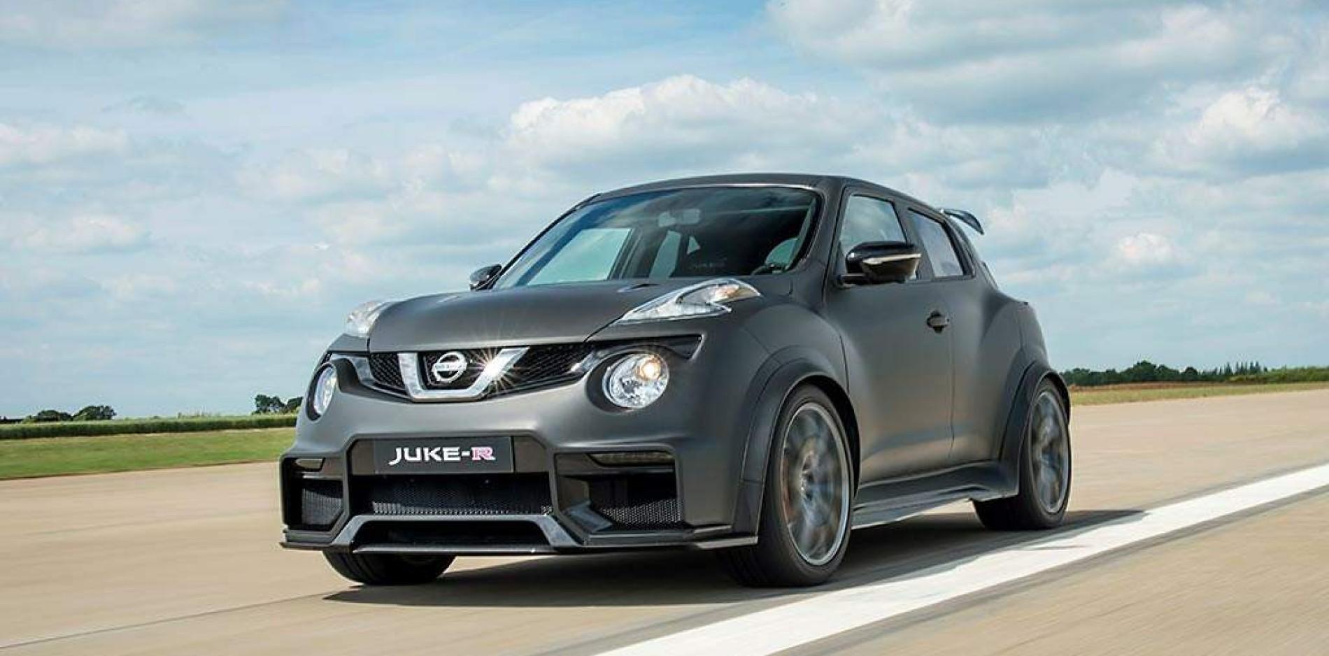 Nissan Juke-R Nismo, simplemente radical