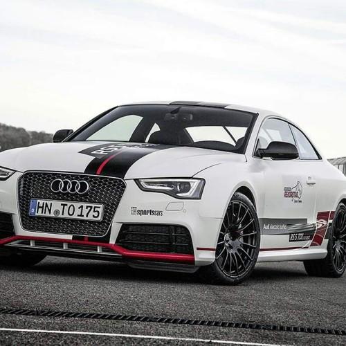 El Audi RS 5 TDI competition concept bate el récord en el circuito de Sachsenring