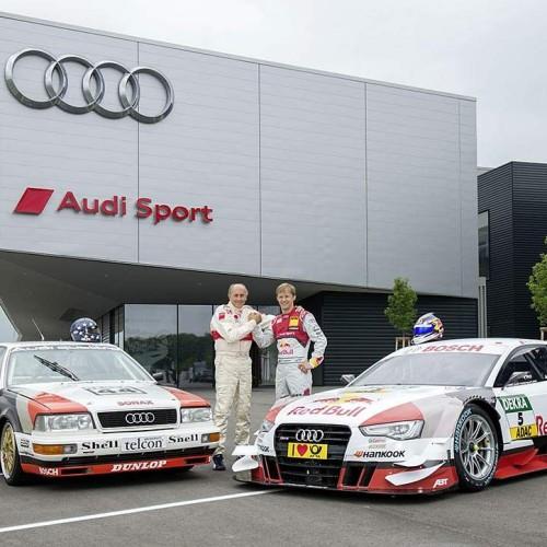 Audi celebra los 25 años de su primera victoria en el DTM