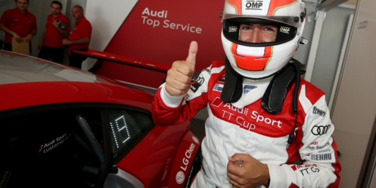 Jordi Gené firma dos cuartos puestos en la Audi Sport TT Cup