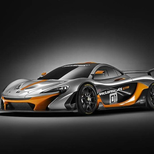 McLaren P1 GTR: híbrido de carreras