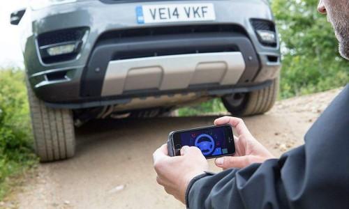 Cómo conducir un Range Rover Sport  por control remoto