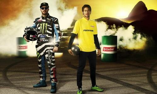 Footkhana, así se divierten Neymar y Ken Block