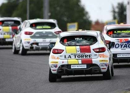 Renaull Clio Cup 3- trasera