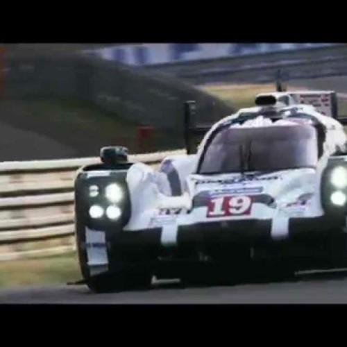 Vídeo de la victoria de Porsche en Le Mans