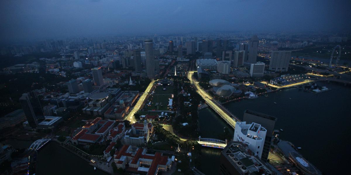 Cambios en el Circuito de Singapur