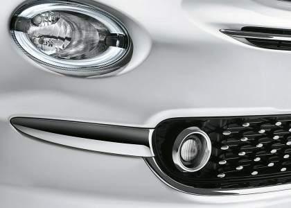 Fiat 500 2015-Luces antiniebla