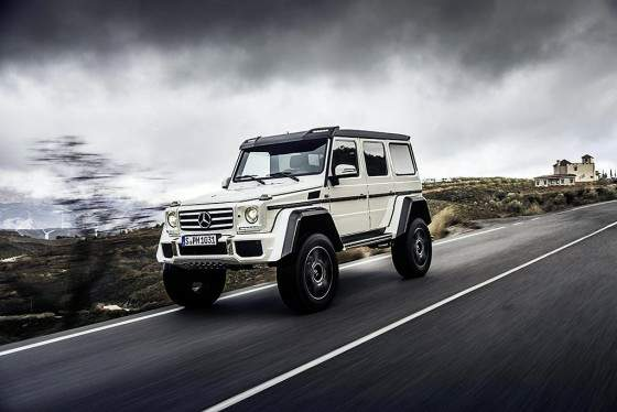 Mercedes-Benz Clase G500 4x4-articulo 1