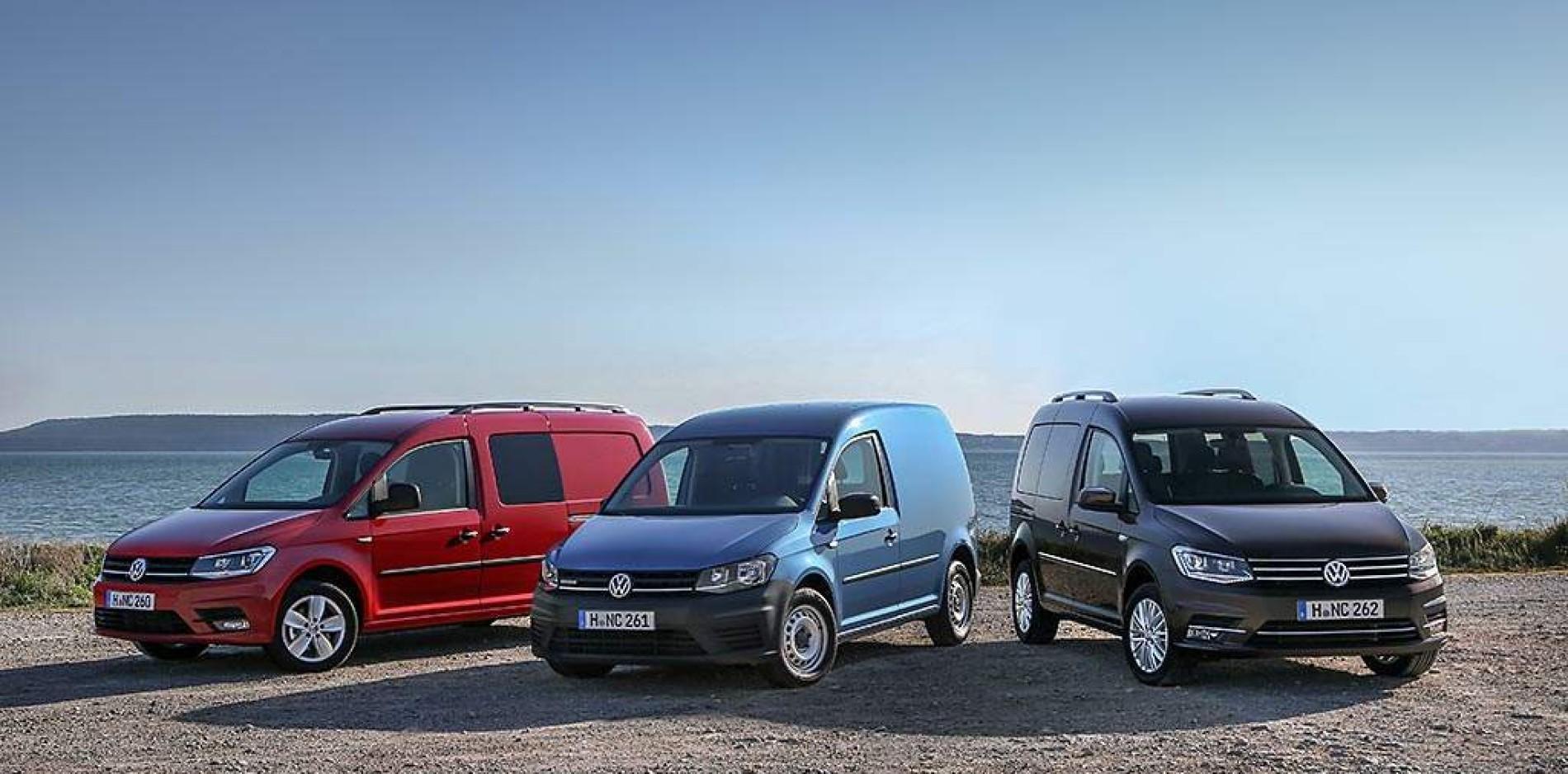 Polivalencia absoluta, nuevo Volkswagen Caddy