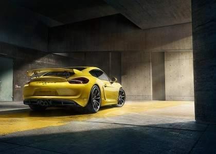 Porsche Cayman GT4-11