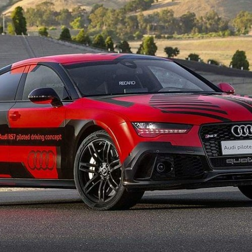 Audi RS 7 piloted driving concept, el coche que conduce solo