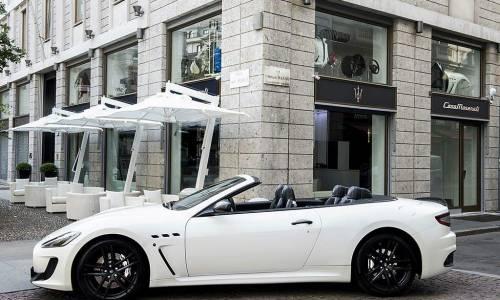 Maserati abre una tienda en Milán