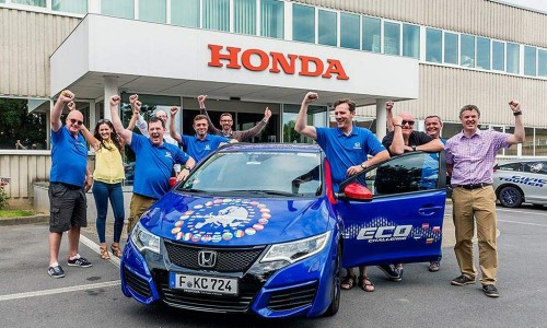Honda bate el record Guinness de consumo a lo largo de 24 países