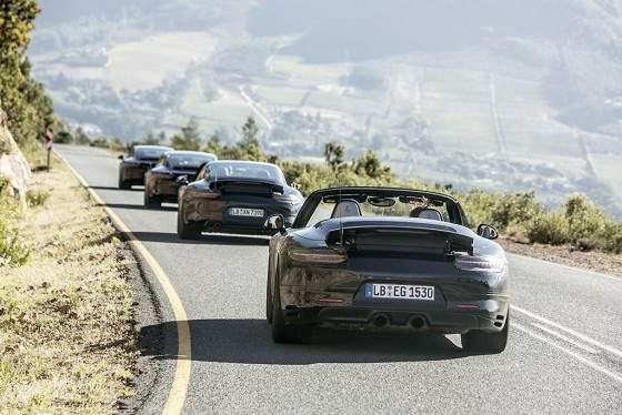 Porsche 911 2016-versiones
