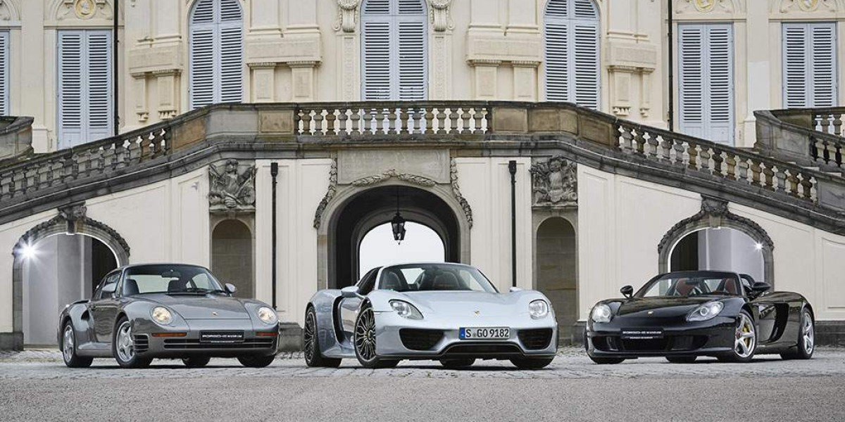 Despedida con honores para el Porsche 918 Spyder