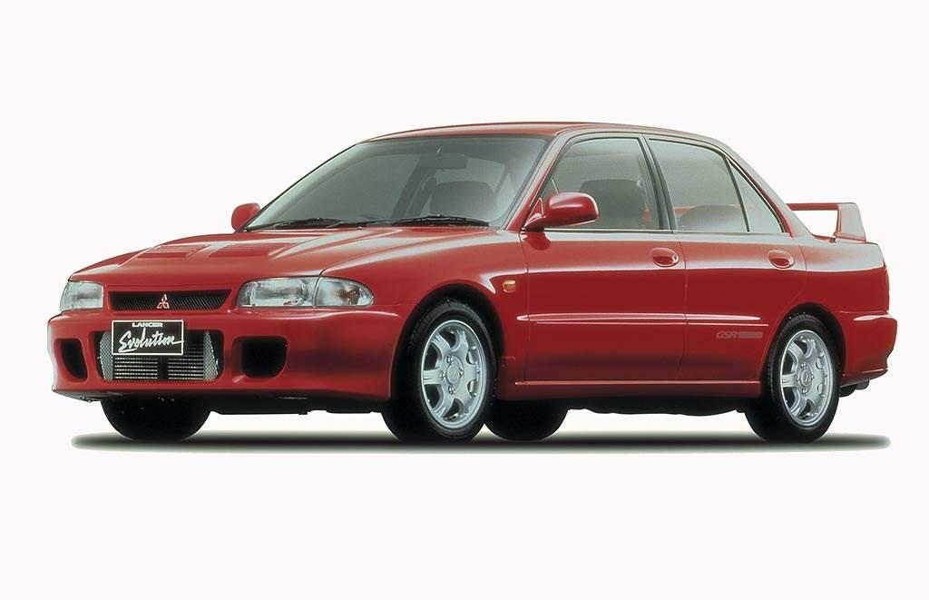 Mitsubishi Lancer Evolution: todas las generaciones reunidas (fotos)