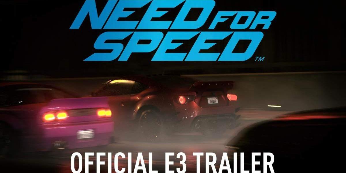 Need for Speed, presentado en el E3 2015