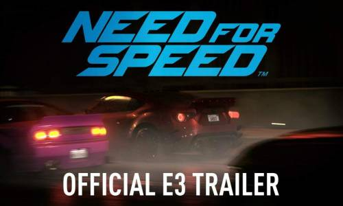 Need for Speed, presentado en el E3 2015