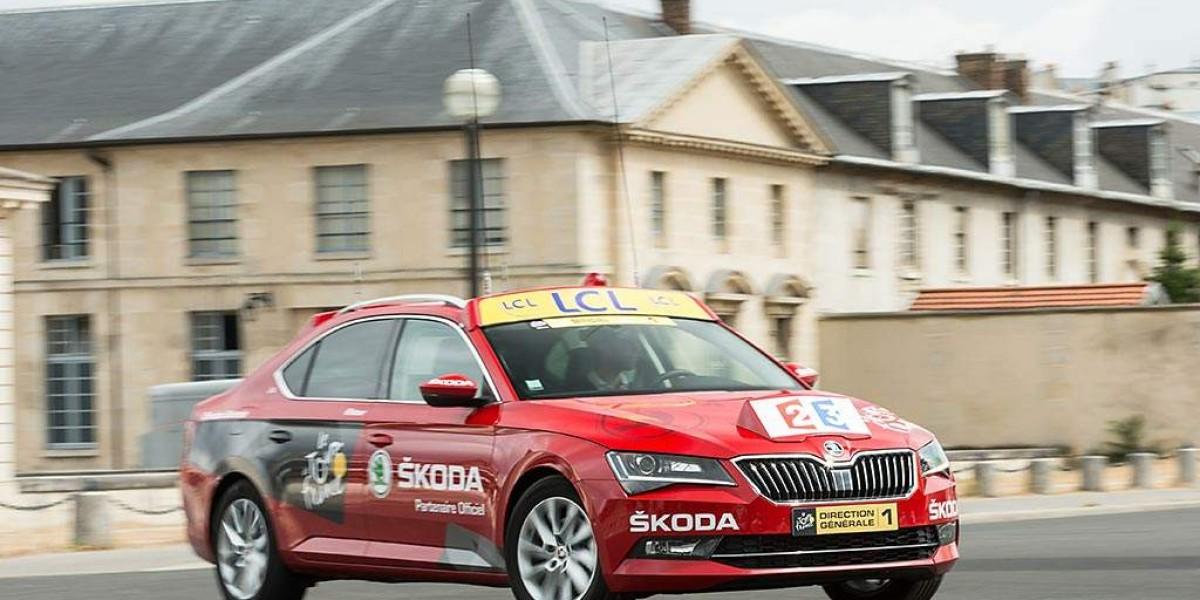 El nuevo Skoda Superb, protagonista del Tour de Francia 2015