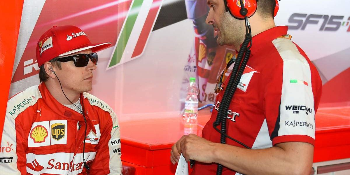 Ferrari no ejerce la renovación automática de Räikkönen