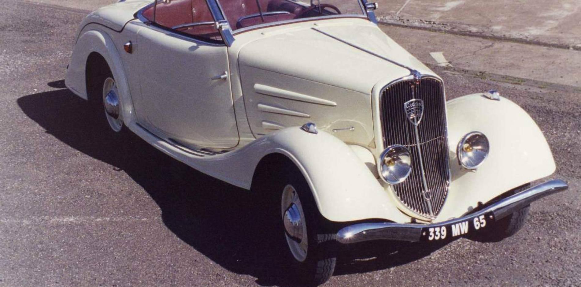 Los Peugeot descapotables más famosos de la historia