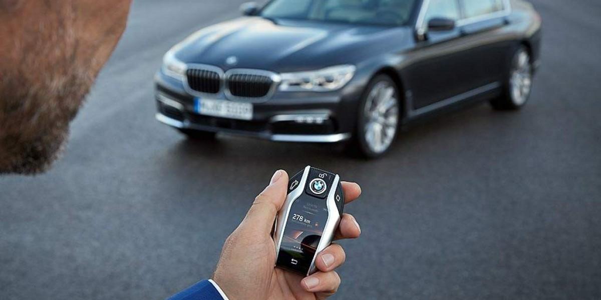 Aparcamiento remoto en el BMW Serie 7
