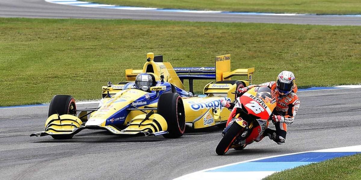 Dani Pedrosa se enfrenta a un IndyCar
