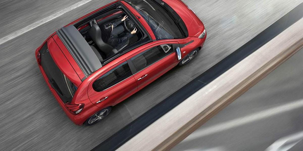 Disfruta a cielo abierto con el Peugeot 108 TOP!