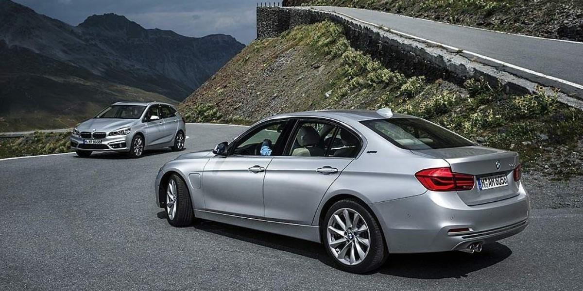 Llegan los nuevos BMW híbridos enchufables: BMW 225xe y BMW 330e
