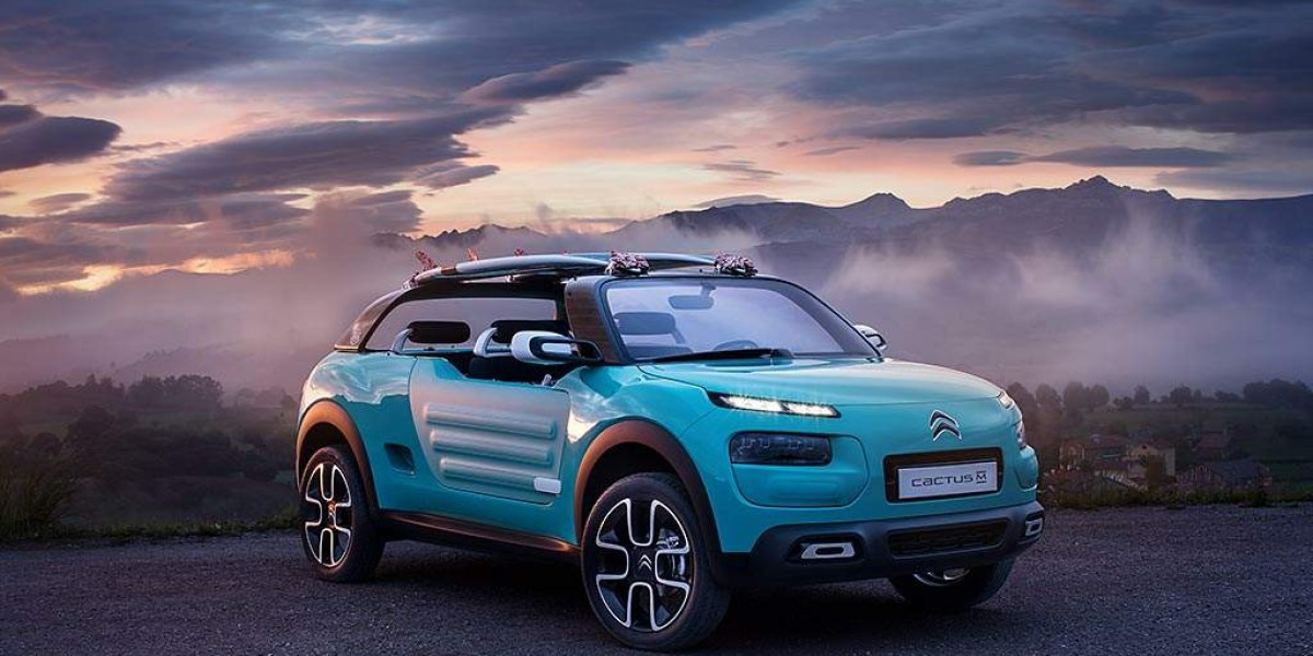 Citroën Cactus M, el Mehari del futuro