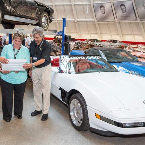 Restaurado el Corvette 1 millón