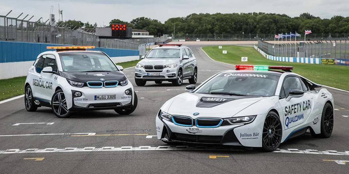 Así es el safety car de BMW en la Formula E