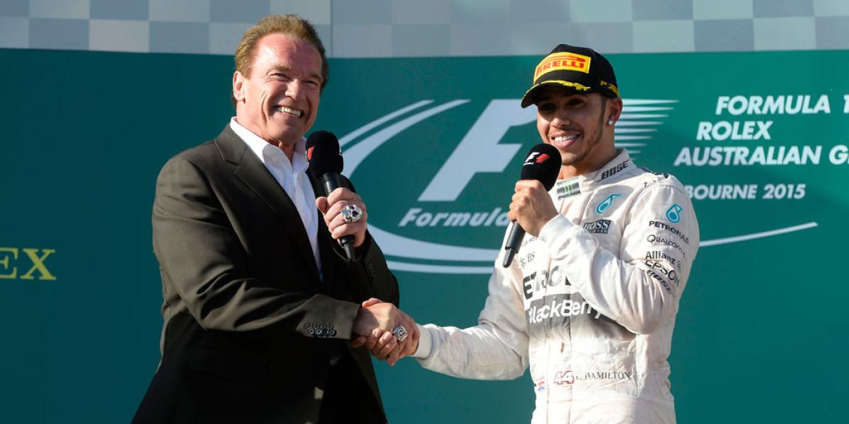 Las mejores imágenes del título de Lewis Hamilton