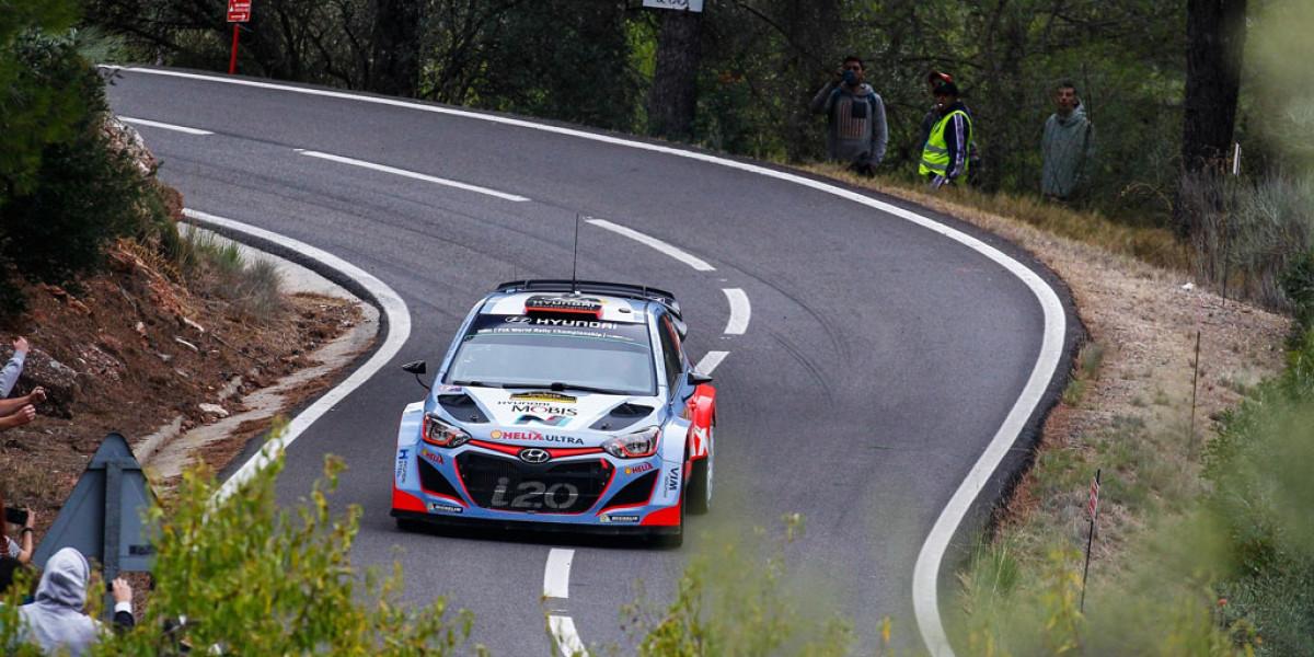 Tercer puesto de Dani Sordo en el Rally de España