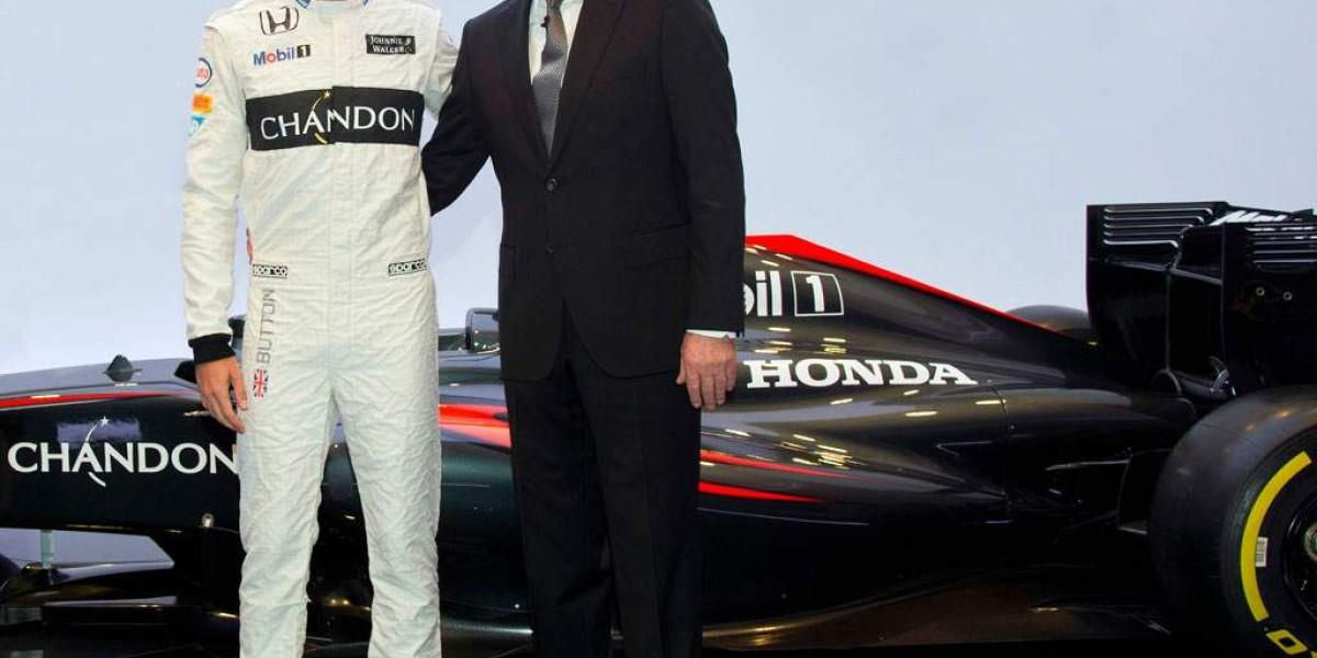 Button y McLaren seguirán juntos en 2016