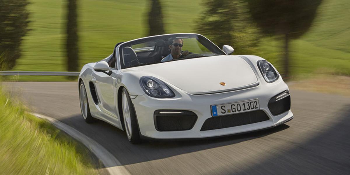 Descubrimos el Porsche Boxster Spyder, un deportivo genuino