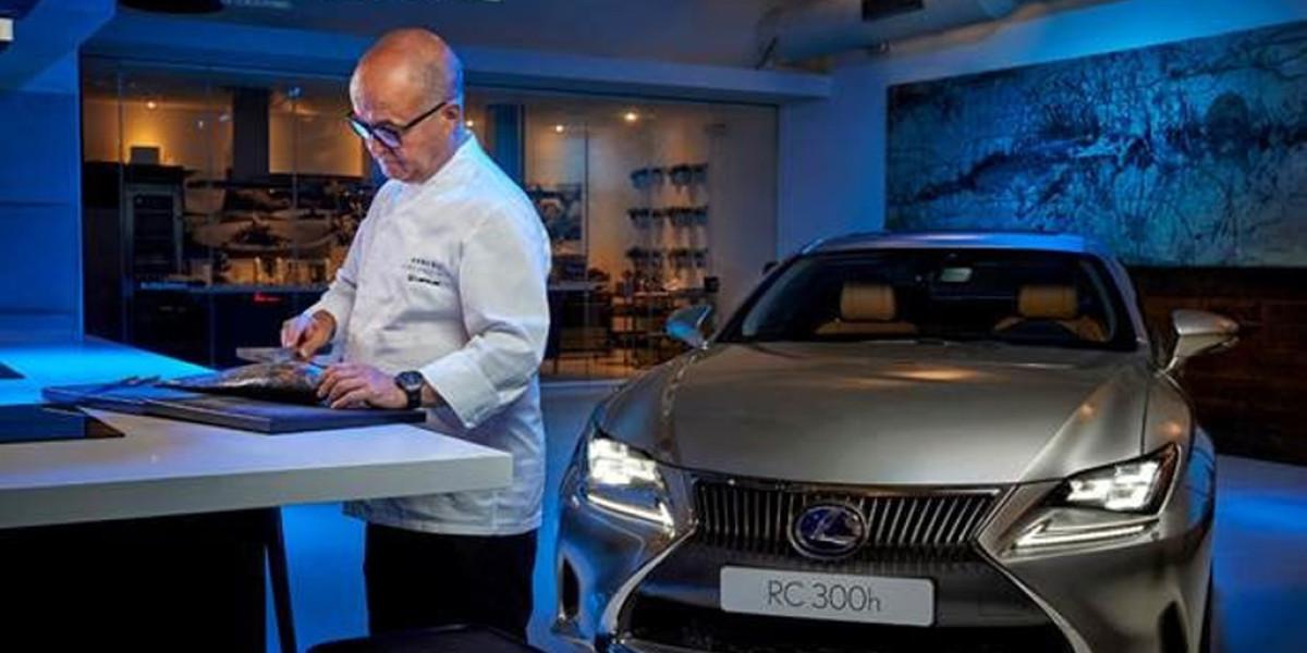 Sigue la colaboración de Lexus y Restaurantes Kabuki