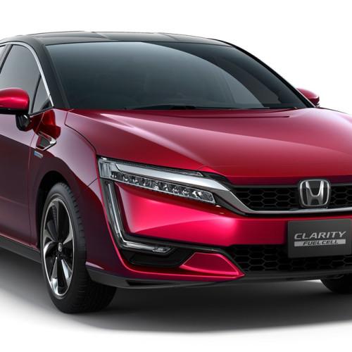 Honda Clarity Fuel Cell: rival del Toyota Mirai