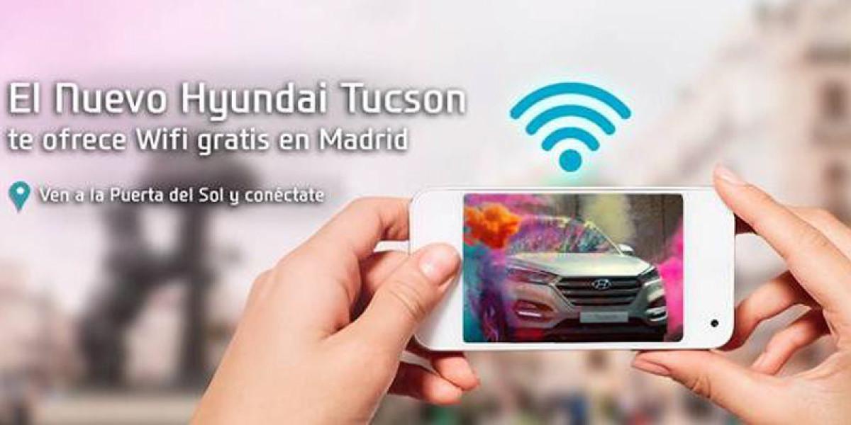 Wifi gratis con el nuevo Hyundai Tucson en la Puerta del Sol