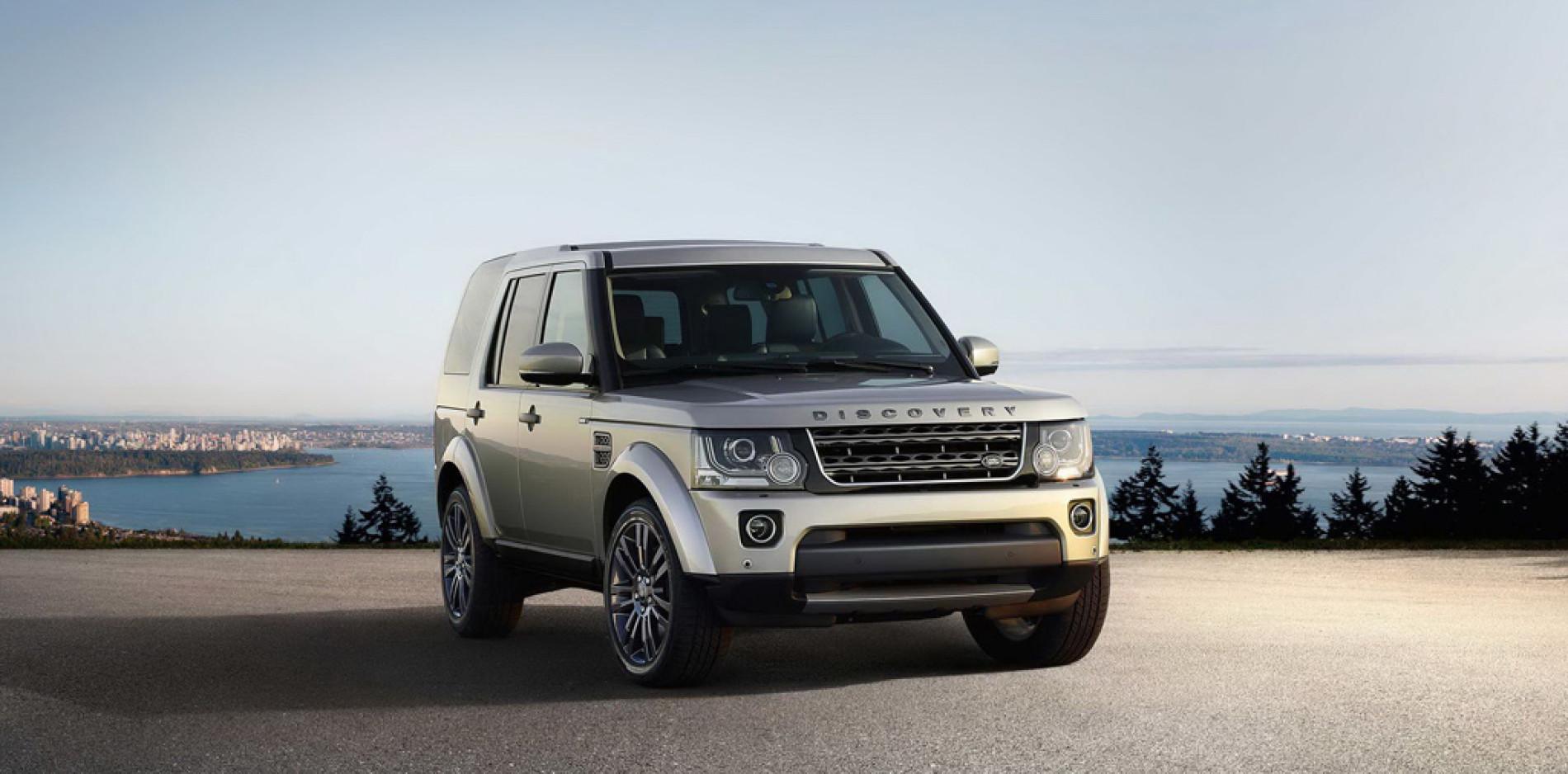 Edición limitada Land Rover Discovery 4 Graphite