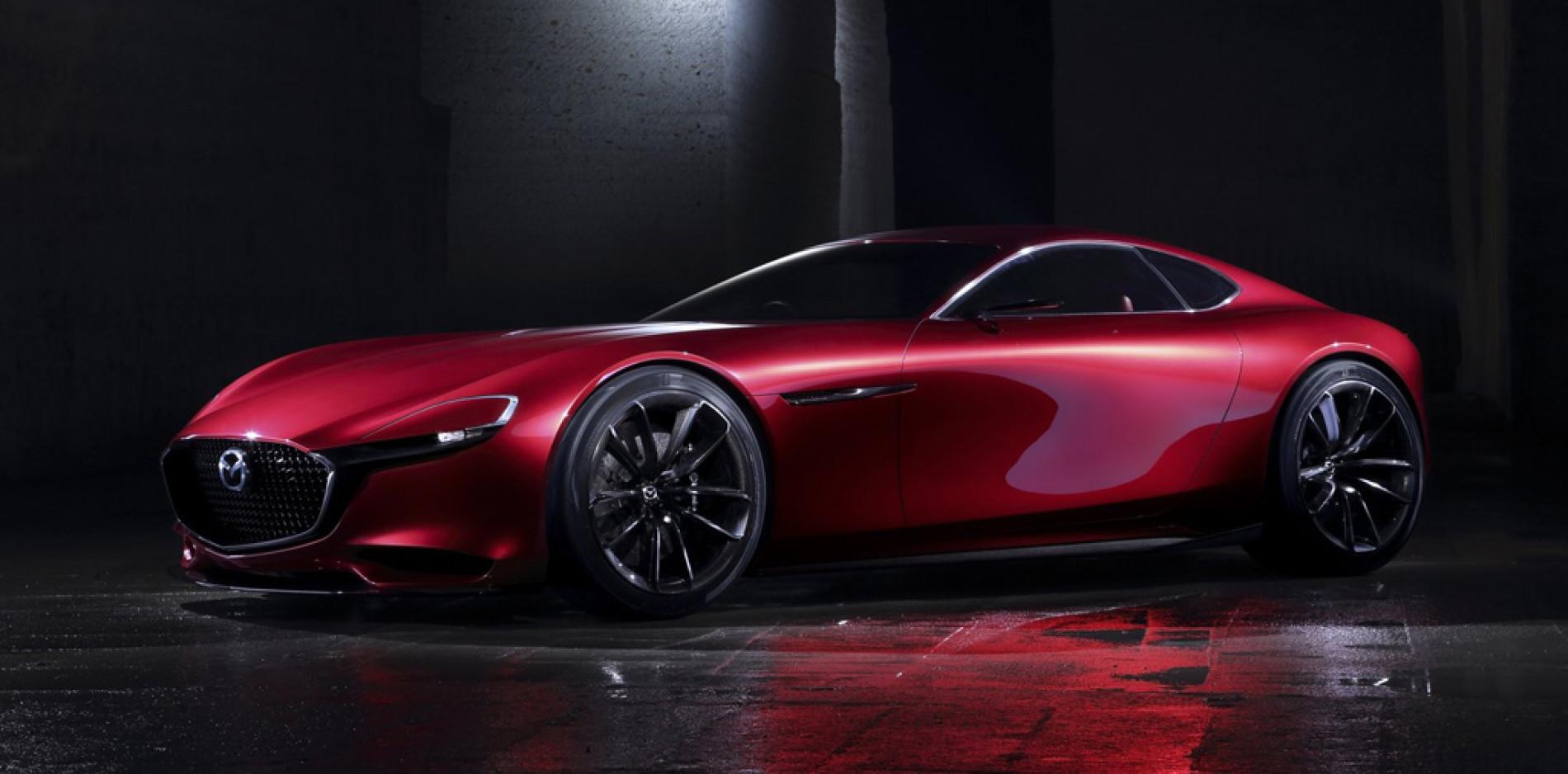 Mazda RX-VISION Concept: regresa el motor rotativo