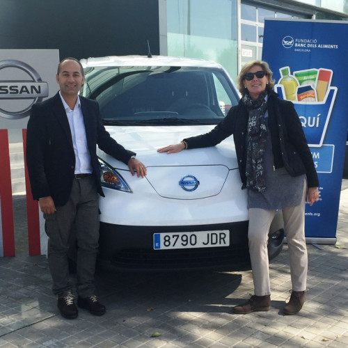 Nissan ayuda al Banc dels Aliments de Barcelona
