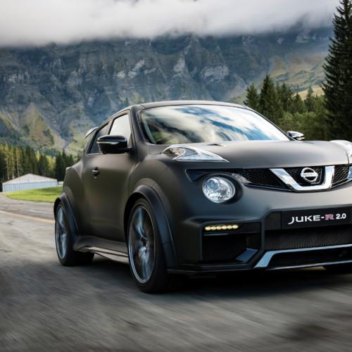 Nissan Juke-R 2.0, aún más extremo