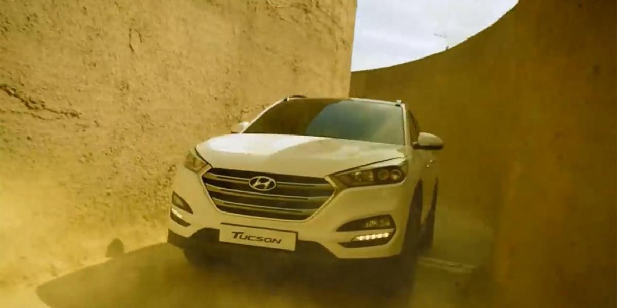 El nuevo Hyundai Tucson supera un circuito de arena