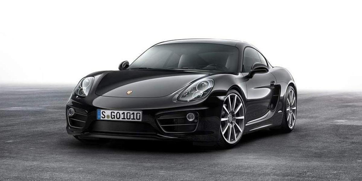 Nuevo Porsche Cayman Black Edition, todo al negro
