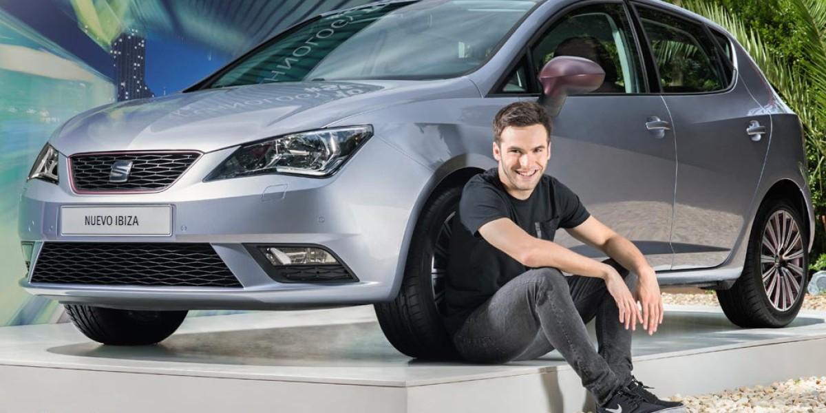 Ricardo Gómez es el nuevo embajador de SEAT