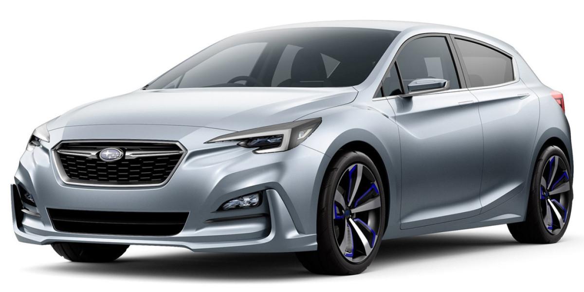 Primeras fotos del Subaru Impreza Concept